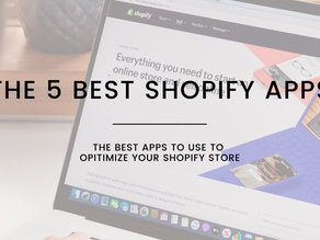 The 5 Best Shopify Apps
