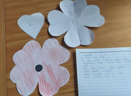 Bronwyn's ANZAC Poppies