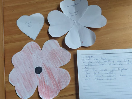 Bronwyn's ANZAC Poppies