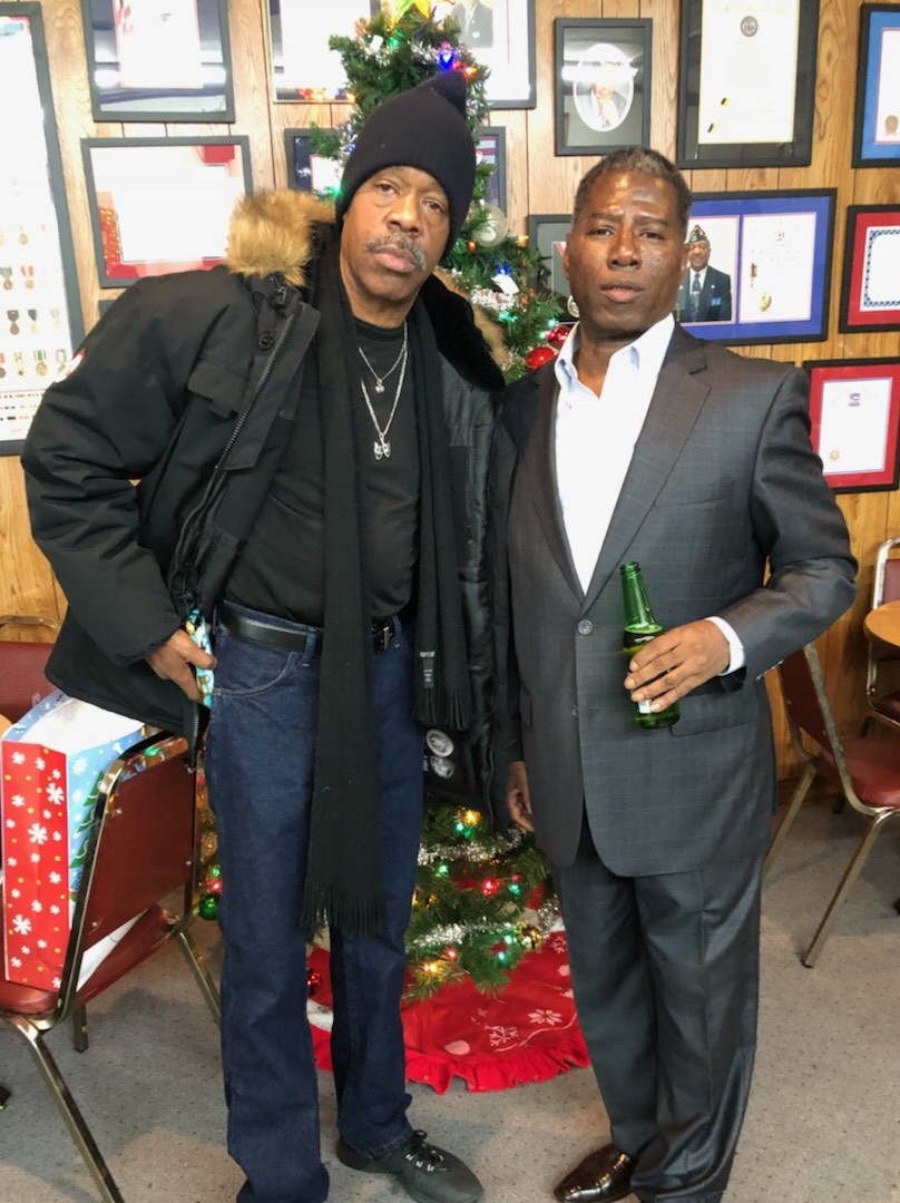 DC toys for Tots with my Comedians