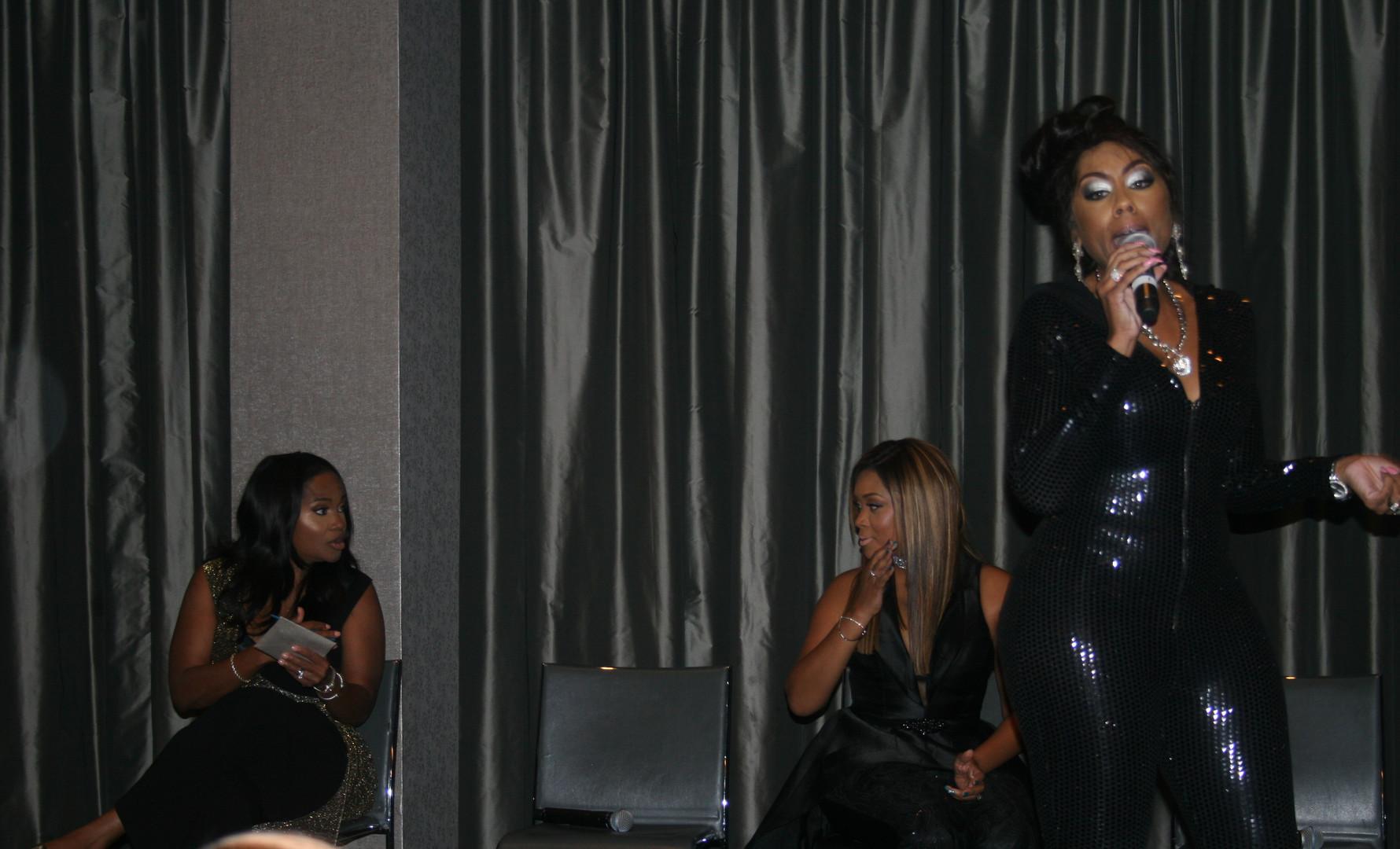 Shasha The Diva, Kiss 104.1 FM.JPG