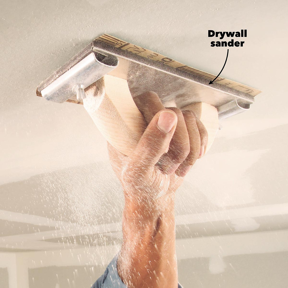 Over Sanding the Drywall surface
