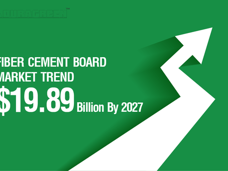 Fiber Cement Board Trend and High increasing Demand wishes To Reach USD 19.89 Billion By 2027