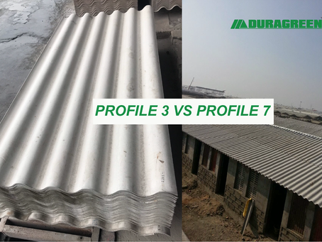 DURAGREEN FIBER CEMENT CORRUGATED ROOFING SHEET