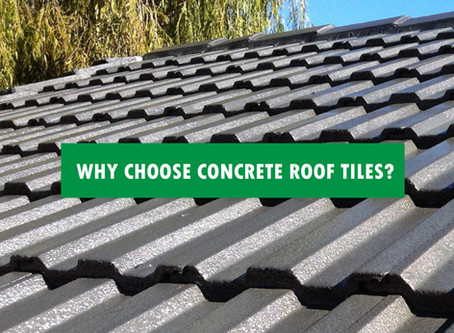 5 REASONS TO CHOOSE CONCRETE ROOF TILE