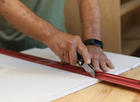 Fabricating and installing Fiber Cement Boards (FCB)