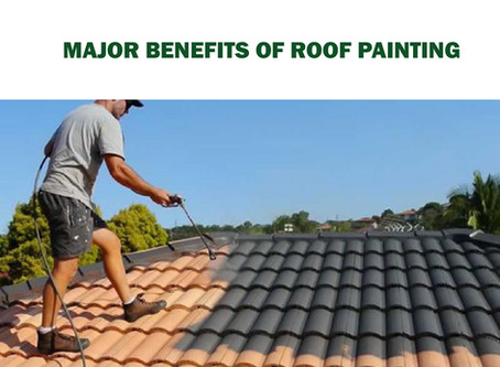 MAIN BENEFITS OF ROOF PAINTINGS