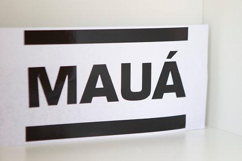Adesivo - Logo Mauá - Mauá