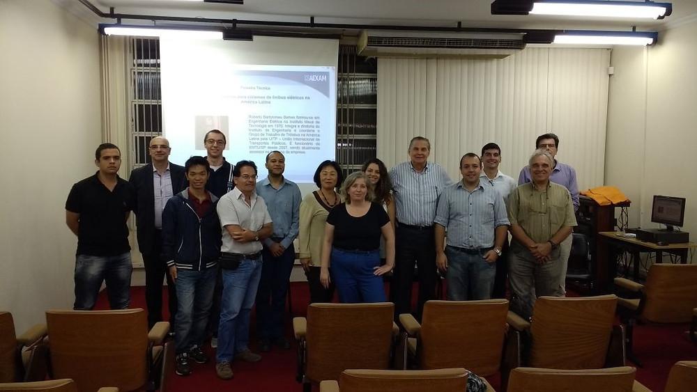 Reunião de Discussão GDT AEXAM - Mobilidade Urbana