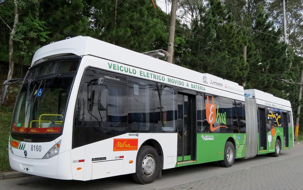 ônibus Elétrico a Bateria