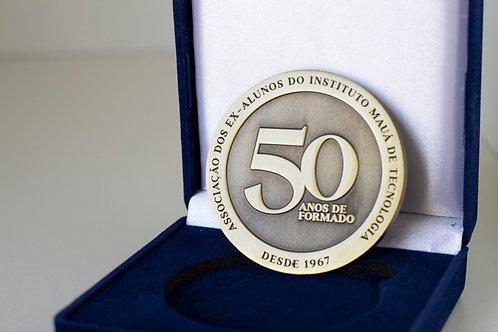 Moeda comemorativa - 50 anos de formação
