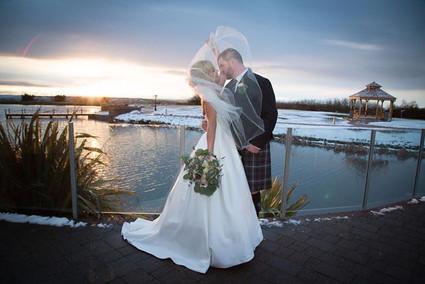 The Vu winter wedding