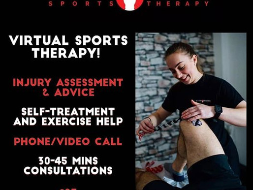 💻 VIRTUAL SPORTS THERAPY 💻 - 27/04/20