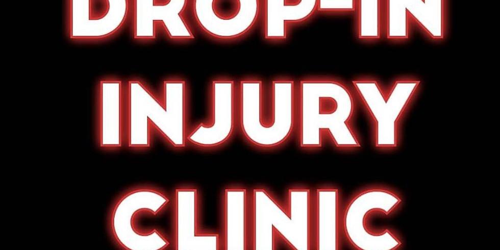 Drop-In Injury Clinic