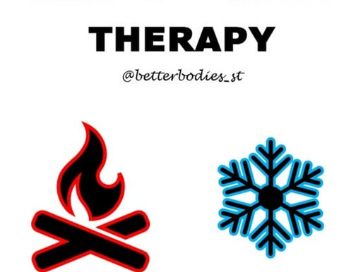 🔥❄️ HOT AND COLD THERAPY ❄️🔥