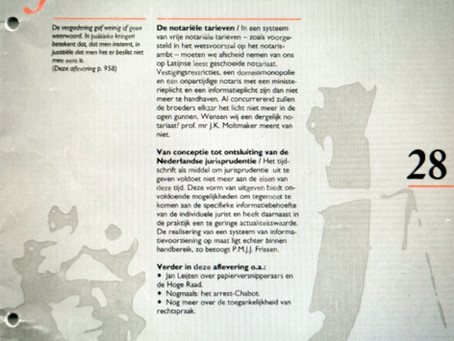 Van conceptie tot ontsluiting van de Nederlandse jurisprudentie