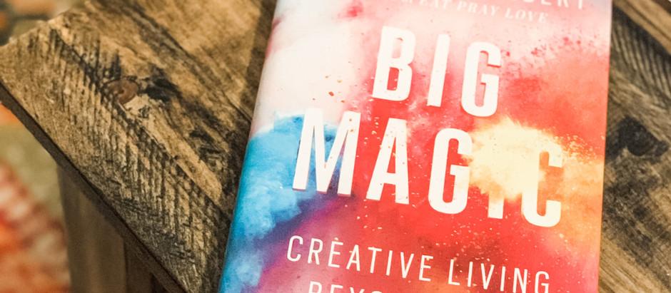 "December Book Club Pick: ""Big Magic"""