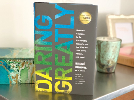 "January Book Club Pick: ""Daring Greatly"""