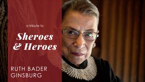 Episode 3: Sparked Sheroes Ruth Bader Ginsburg