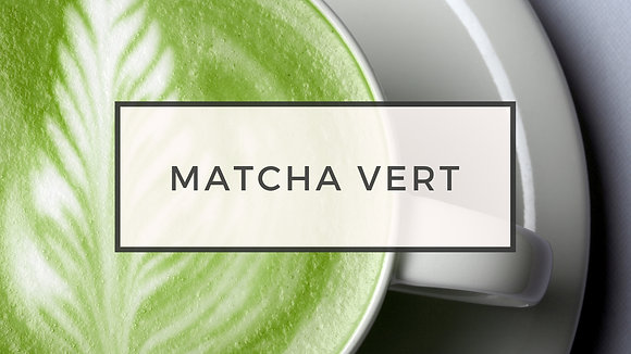 matcha vert