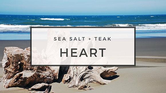 sea salt + teak