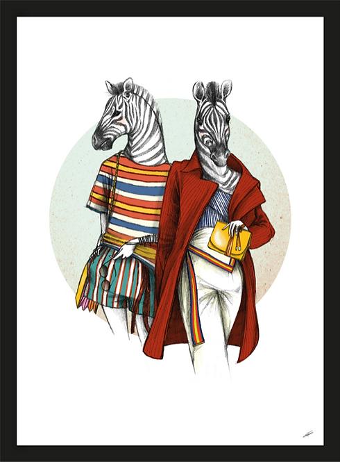 TWEELING ZEBRAS