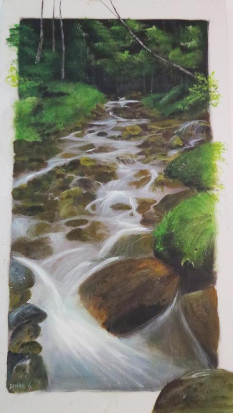 Un ruisseau en Nouvelle Calédonie