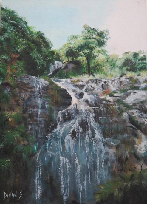 Une cascade à Thio