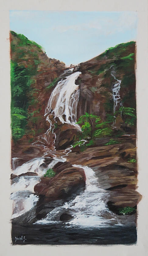 Une cascade en Province Nord