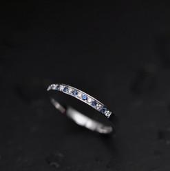 Or Blanc 750 Diamants taille brillant Sa