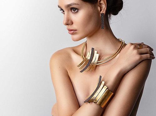 Boucles d'Oreilles GOLD CURVED