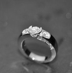 Or Blanc 750 Diamants taille Brillant.jp