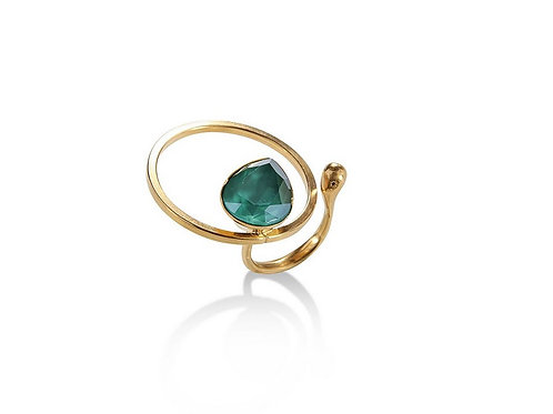 Bague RAGGED OVAL