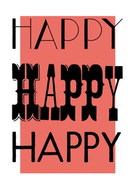 Birthday Card Typography