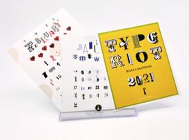 Type Riot Calendar