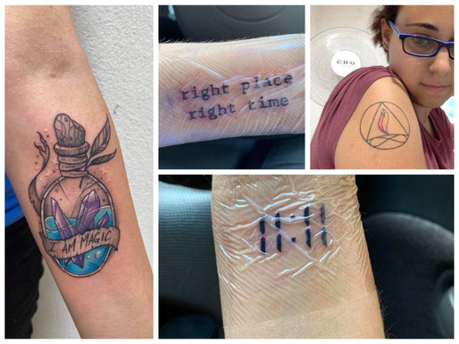 Four Tatts and The Artist