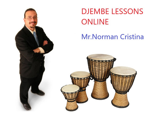 A Guest Initiative - Djembe Lessons Online