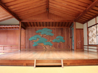 Visit a Private Noh Theatre in Kyoto | MK Taxi Private Tours