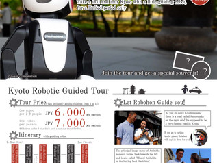 Tour Kyoto with a Robot Guide!