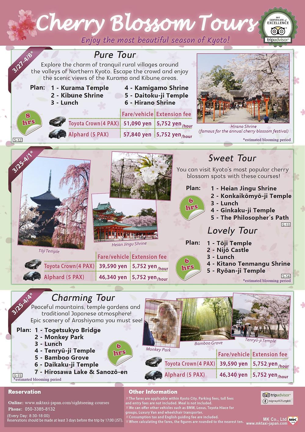 Kyoto Sakura Tours 1 - View PDF