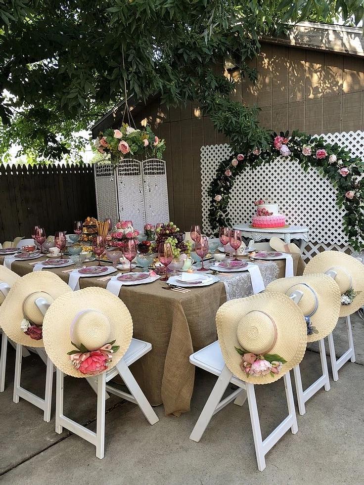 Bougie Garden Tea Party