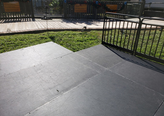 Outdoor Staging Low Platform