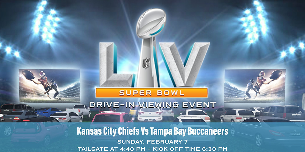Super Bowl Drive-In Viewing
