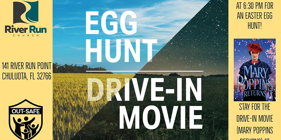 River Run Church Presents: Free Egg Hunt & Movie Night!