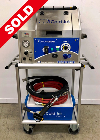 Cold Jet i³ MicroClean (Used only 7 Hours)