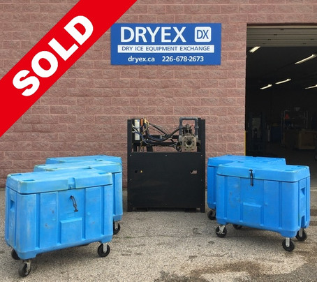Coldjet P325 Dry Ice Pelletizer 300 lbs, Per Hour