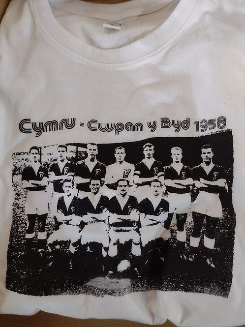 Crys Cwpan y Byd 1958 T Shirt