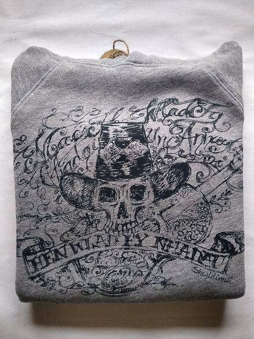 Skull Print Anthem Hoodie