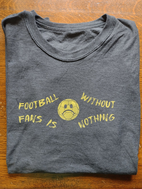 Crys-T Football without fans