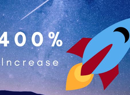 Increasing AMS Sales 400%